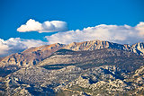 Paklenica national park on Velebit mountain view