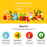 Happy New Year Website Design
