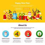 Happy New Year Website Design