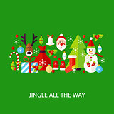 Jingle All The Way Greeting