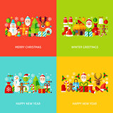 New Year Greeting Set