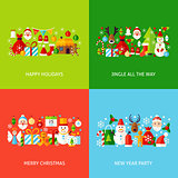 Merry Christmas Greeting Set