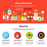 Merry Christmas Web Design