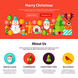 Merry Christmas Website Design