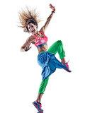 woman fitness excercises dancer dancing