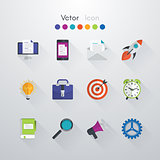 Vector set icons