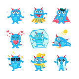 Blue Monster Character Activities