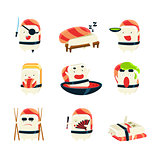Maki Sushi Character Japan Themed Activities