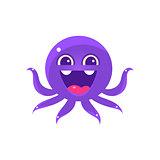 Ecstatic Funny Octopus Emoji