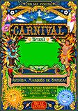 Rio Carnival Poster Illustration Brazil Carnaval Mask Show Parad