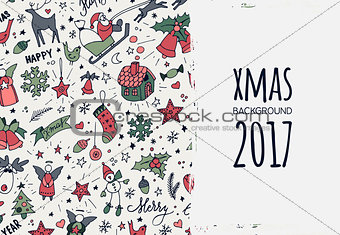 Modern New Year card or party design