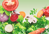 Salad background