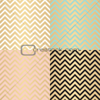Abstract Simple Glossy Golden Seamless Pattern Background Collec