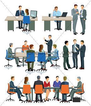 Büro Darstellungen, Geschäftsleitung