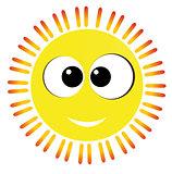 baby yellow sun
