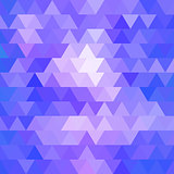 abstract geometric triangle background