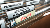 Production Process Organization, Operations Management.