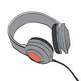 Headphones audio and music
