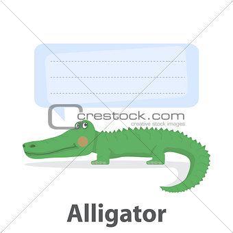 Alligator vector illustration