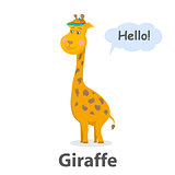Giraffe vector illustration