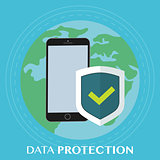 Worldwide data protection on the phone