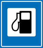 Fuel pump, gas station icon