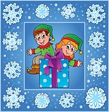 Christmas decorative greeting card 2