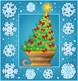 Christmas decorative greeting card 3