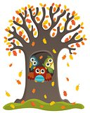 Owl tree theme image 3