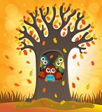 Owl tree theme image 4