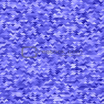 Abstract Mosaic Blue Triangles Background
