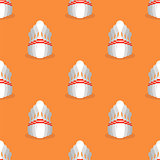 Bowling Pins Seamless Pattern