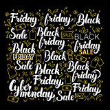 Black Friday Calligraphy Design