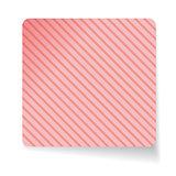 Pink paper sticker vector