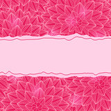 Stylish Pink Card