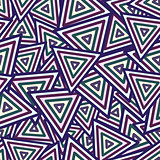 Abstract Maya Dark Seamless Pattern