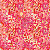 Big Pink Flower Seamless Texture