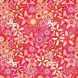Big Pink Flower Seamless Texture