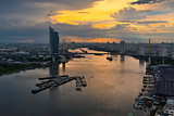Chao Phraya Sunset