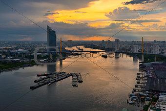 Chao Phraya Sunset