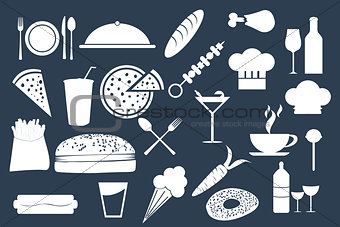 Foods and Drinks Vector