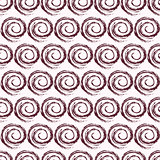 Geometric Swirl Seamless Pattern with Spiral