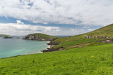 view to ocean at wild atlantic way in ireland