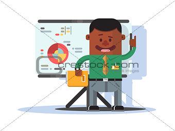 Office worker employee