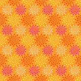 Yellow Orange Seamless Abstract Pattern