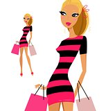 New fashion Girl is ready in Shop : for media / marketing