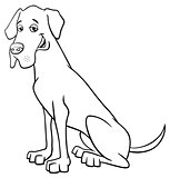 grea dane dog cartoon