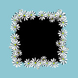 Daisy frame, sketch for your design