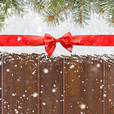 snowy glittering christmas or new year background