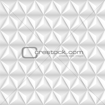 Abstract background with white pyramids.